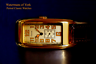 Curvex 1920s Period Style art deco oblong tanker watch with luminous hands