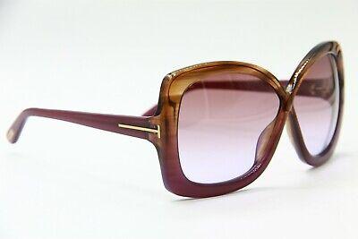 TOM FORD TF 227 83Z CALGARY BROWN SUNGLASSES AUTHENTIC TF227 63-5 (Sunglasses Calgary)