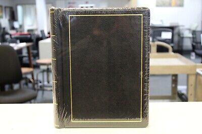 Wilson Jones Corporate Minute Book Letter Size Black