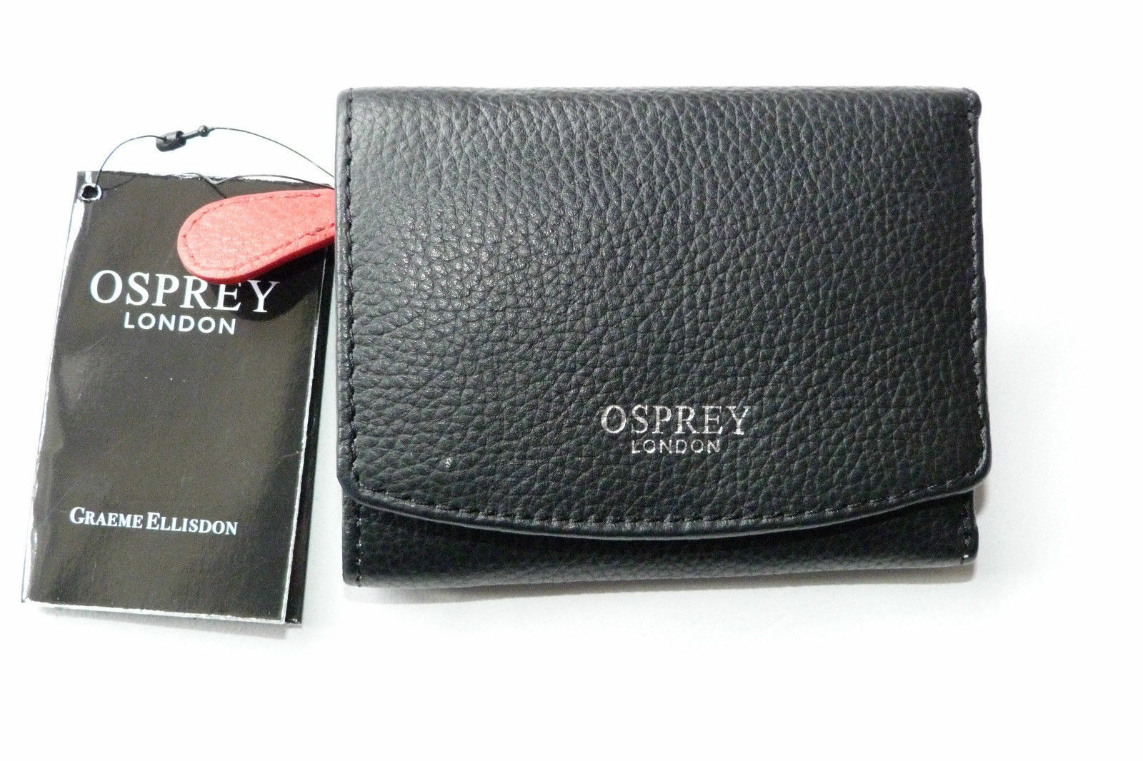 gift boxed Triple Zip by Safari RRP £15.00 Genuine Leather Ladies Purse