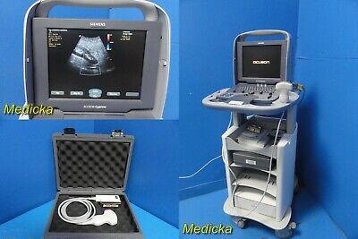 Siemens Acuson Cypress Diagnostics Ultrasound W 4c1 Probe Cart Cds Manual21422
