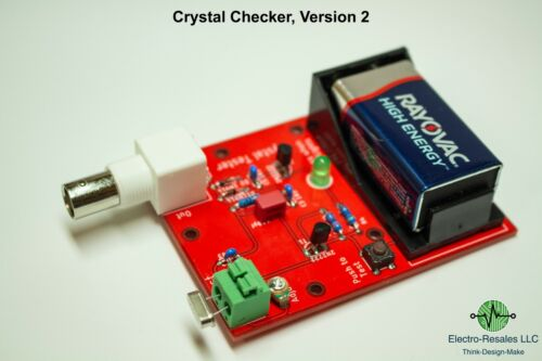 Electro-Resales Crystal Tester  and  RF Generator, Version 2