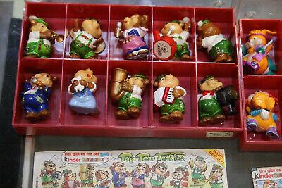 Lot of Vintage Kinder Egg Suprise Bears and Figures 3x Complete Sets LOOK! JSH