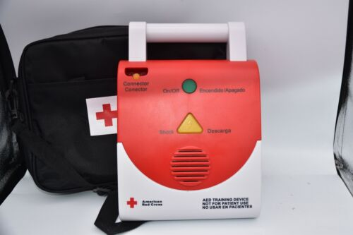 American Red Cross AED Trainer Device Bag CPR English Spanish P60149
