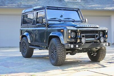 1995 Land Rover Defender  1995 LAND ROVER NAS DEFENDER 90, FULLY RESTORED BY EAST COAST DEFENDER