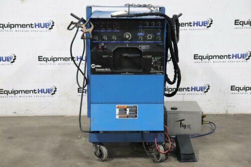 Miller Syncrowave 350 Amp Tig Welder w/ Tig-er Dynaflux Torch Cooling System