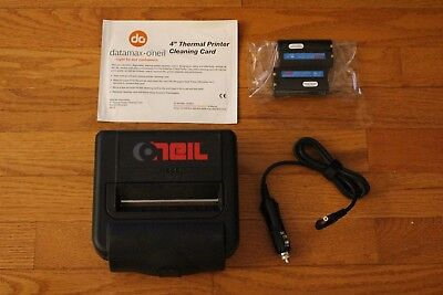 Datamax Portable Label Printer Oneil Mf4te Oneil Mobile Bluetooth Car Charger