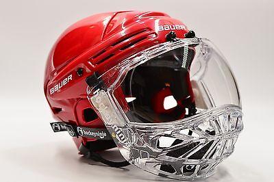 Ronin MK5 Full Shield - Sr - By Hockeyninja.com - NEW!  CE Cert.(No helmet incl)