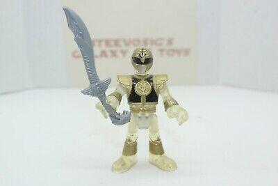 Fisher-Price Imaginext Power Rangers Clear White Power Ranger w/ Sword