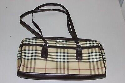 Women's Burberry London Nova Check Small Handbag