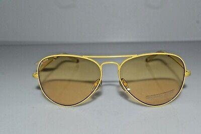 New Michael Kors Yellow Aviator Women's Rachel M2061S 750 58-14-135 Sunglasses