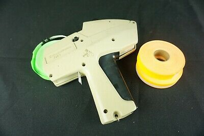 Avery Dennison Monarch 1115 Two Line Price Tag Gun Label Maker Marking System