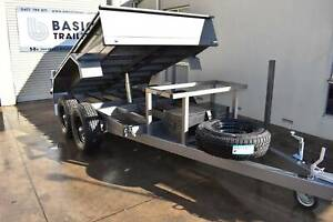 10x5 Hydraulic Tipping Plant Trailer 3500kg (Australian Made) Holden Hill Tea Tree Gully Area Preview