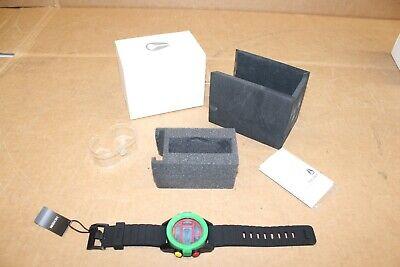 New Nixon Unit Rasta Digital Watch Rubber Green a197 1114-00