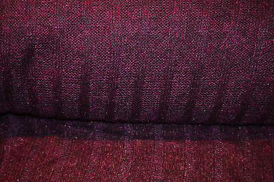 P-145100 Exquisite Italian Fabric,Shimmer violet Wool Mohair  By The Yard
