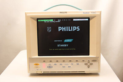 Philips V26c Anesthesia Patient Monitor Module Programmable 11inch Display