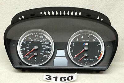 BMW M5 M6 E60 E63 Instrument Cluster Speedometer MPH 06 07 08 09 10 OEM 3160