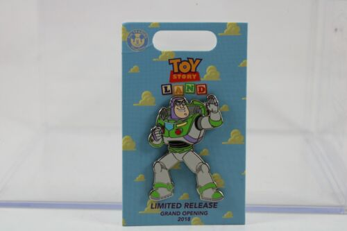 Disney WDW Limited Release Pin Toy Story Land Grand Opening BUZZ