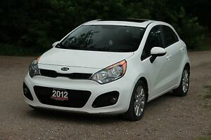 2012 Kia Rio EX Sunroof | ONLY 76K | CERTIFIED