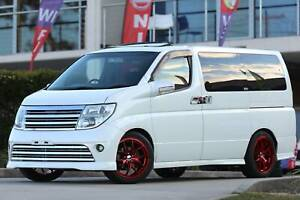 2005 Nissan Elgrand Automatic Double Sunroof Brand New 19'' Mags Wetherill Park Fairfield Area Preview