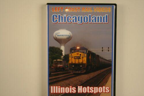 DVD Chicagoland Illinois Hotspots - Left Coast Rail Videos