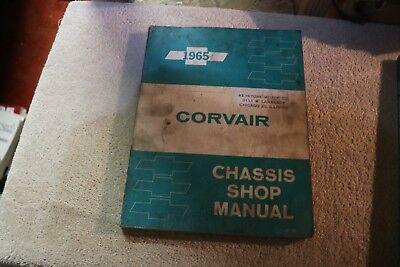 OEM Chevrolet 1965 Corvair chassis shop service repair manual nice! ()