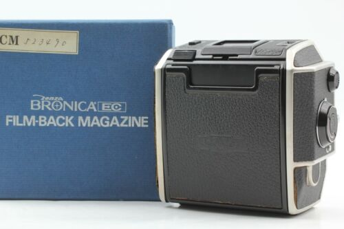 【N MINT in Box】 Zenza Bronica 6x6 120 Roll Film Back Holder for EC from JAPAN