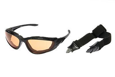 Alpland Sportbrille  Sonnenbrille - für  Allwetter geeignet - mit Band und Bügel
