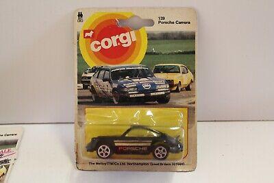 "Corgi Junior No: 139 ""Porsche Carrera"" - Black (Original 1981/UNOPENED)"