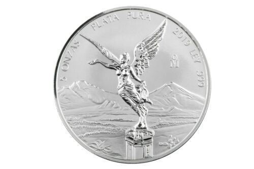 2019 5oz Silver Libertad Reverse Proof - Mintage 1,000.