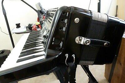 Roland FR3X Digital Accordionm with Power Supply & Gig Bag.