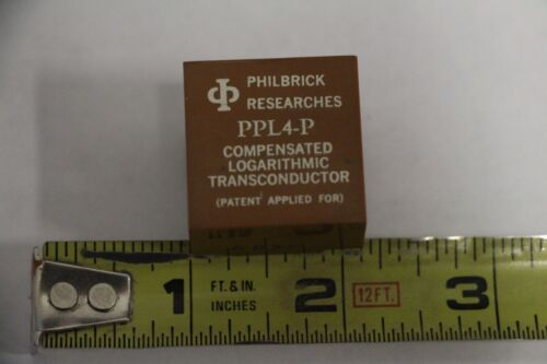 PHILBRICK RESEARCHES PPL4-P Compensated Logarithmic Transconductor 9-PIN