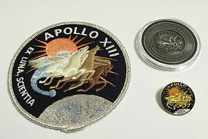 Apollo-13-Coin-Flown-To-Moon-Patch-Pin-Collector-Medallion ...