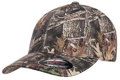Flexfit® 6988 TrueTimber Kanati Camo Fitted Flex Fit Cap Outdoors Camouflage Hat Camo Flex Cap