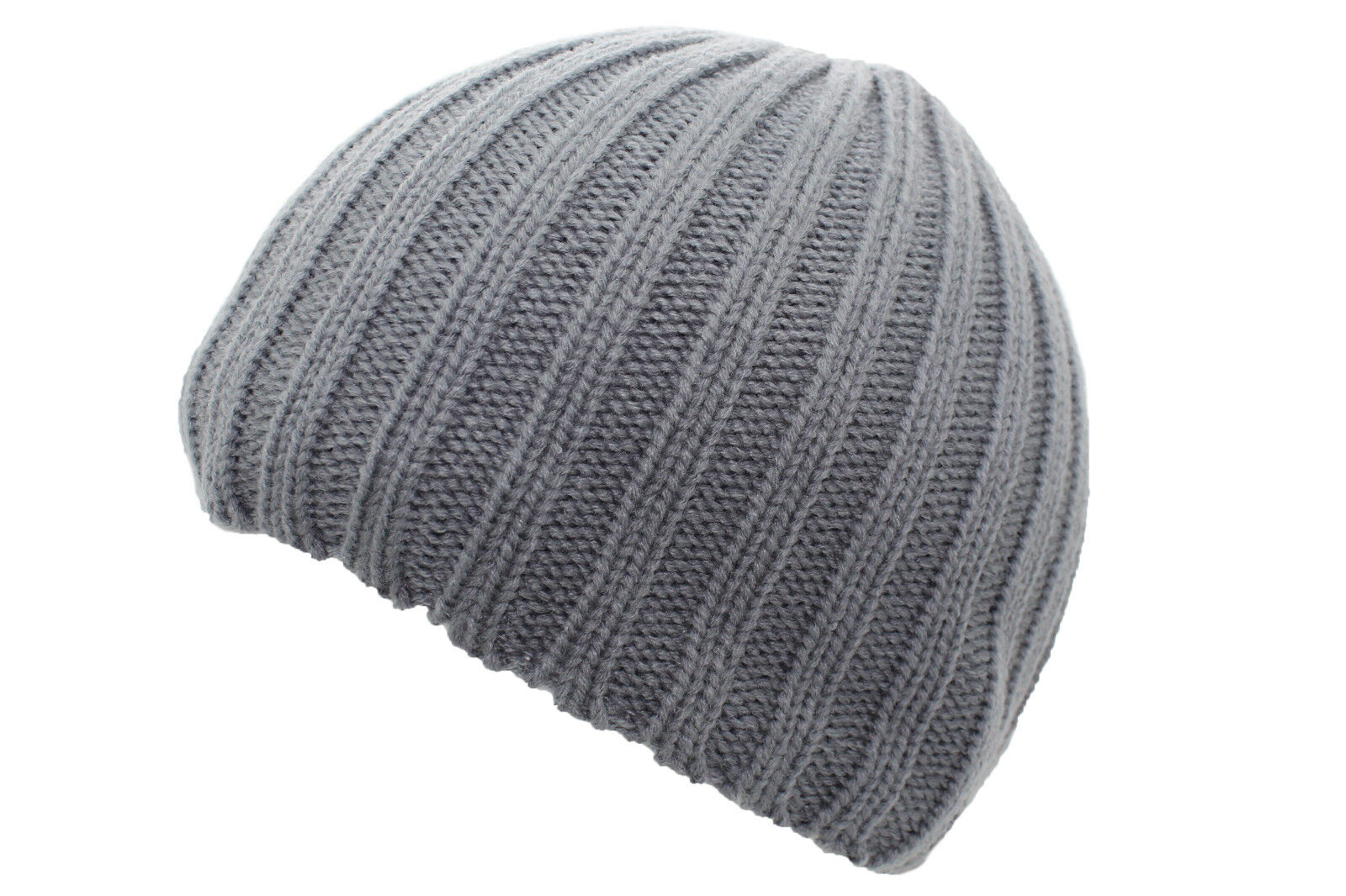 Chunky Knitted Beanie Hat Winter Wooly Ski Cap Heavy Ribbed Knit Design 3  Colour. 9ccd226c3869