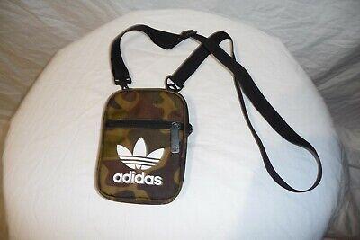 Mens ADIDAS Army Camo Tiny mini Side Bag Shoulder Bag