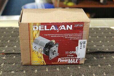 Delavan 11gpm 2-stage Log Splitter Gear Pump 2sp106 Nib