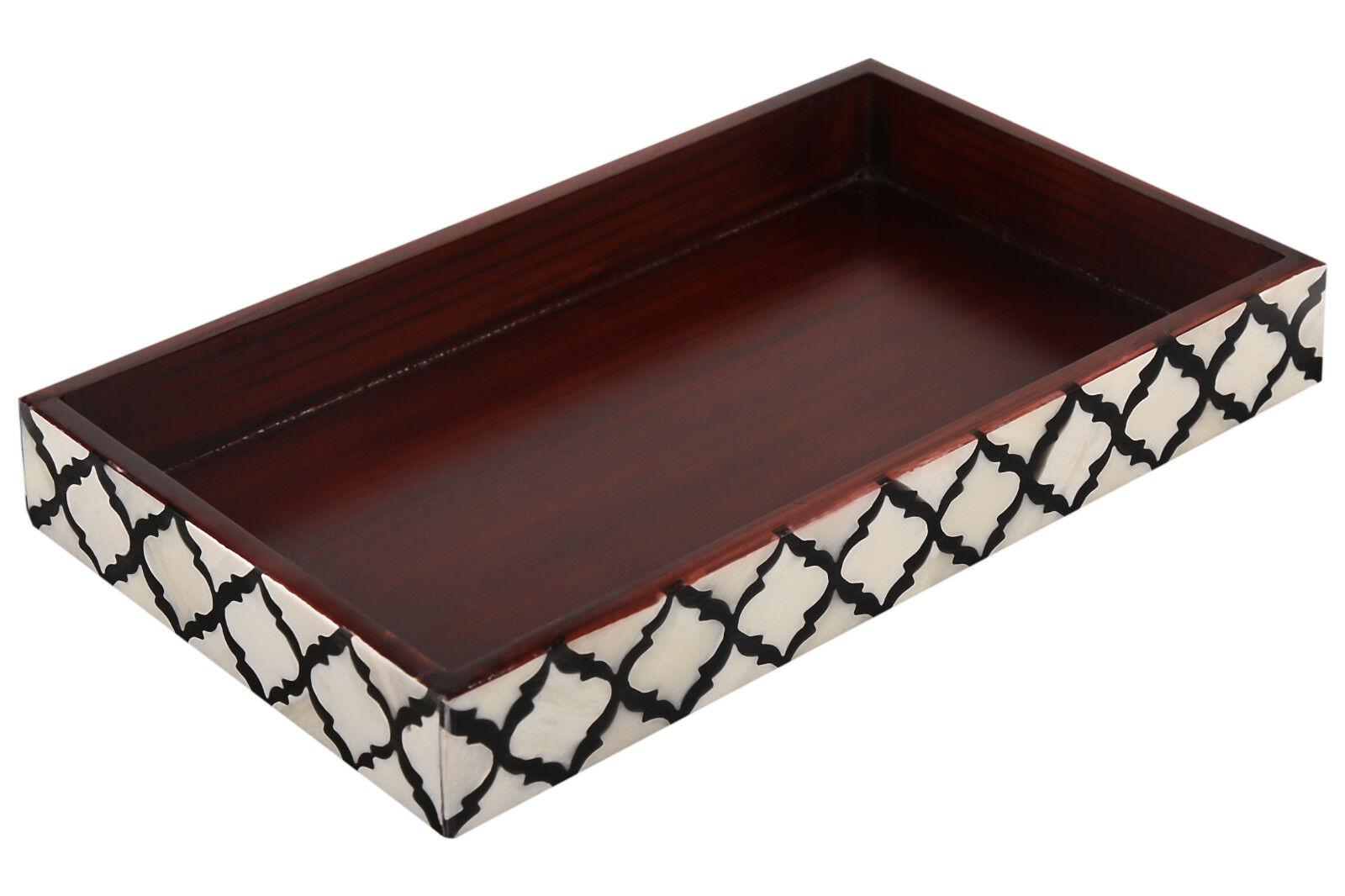 Handicrafts Home Towel Tray for Bathroom Vanity Organizer Ma