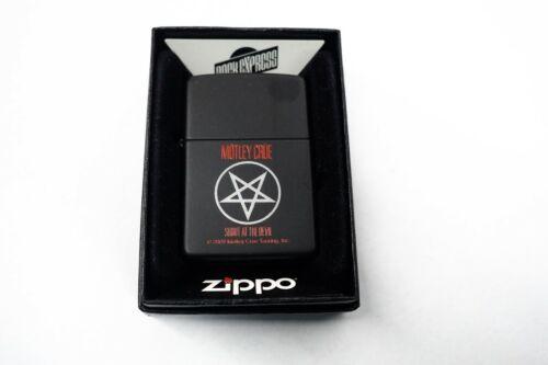 Hard to Find Retired Motley Crue Zippo Lighter