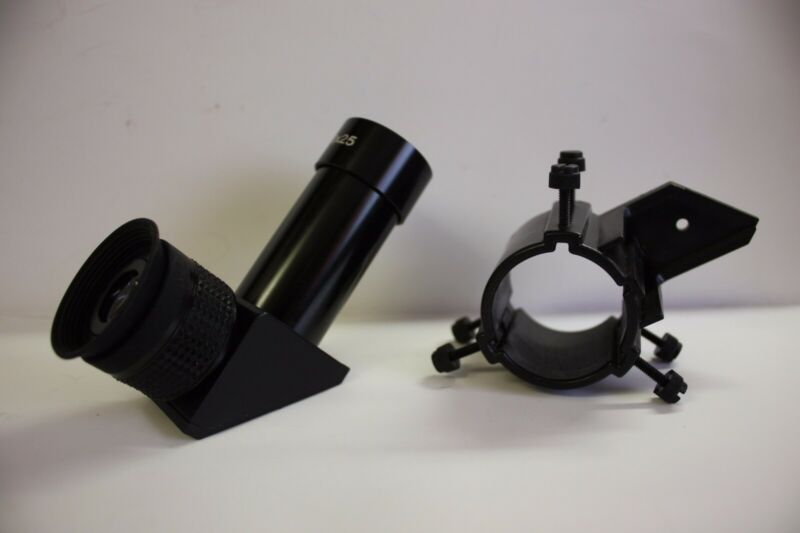825 8x25mm Right Angle Finder Telescope Finderscope & Bracket for Meade ETX-125
