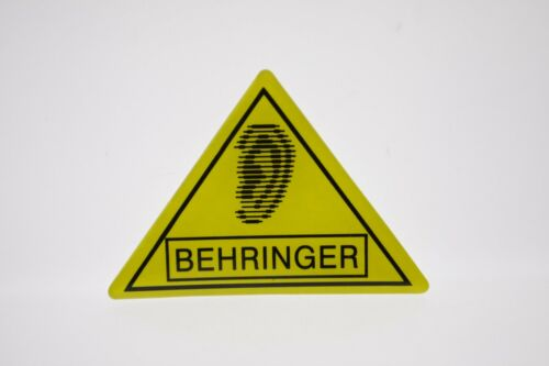 For Replacement BEHRINGER Soft Plastic Crystal Bubble Top Logo Badge-adhesive