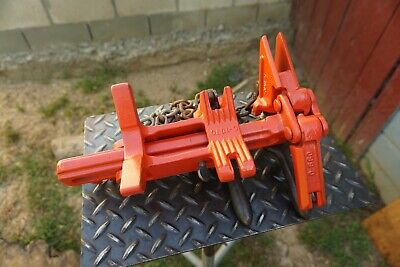 Ridgid 228 C-107010711072 Chain Vise Soil Pipe Wrench Soil Pipe Assembly Tool