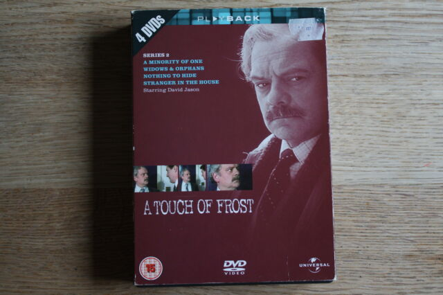 A Touch Of Frost - Series 2 (DVD, 2004, 4-Disc Box Set) - FREE UK 1ST CLASS P&P