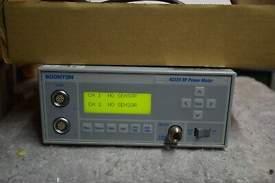 Boonton 4232a Dual Channel Power Meter W 2 Ea 51085 Power Sensors Nice