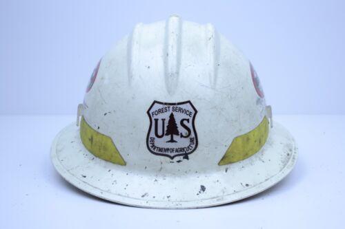 USDA Forest Service Midewin Interagency R-9 Hotshot Crew Hardhat Firefighter