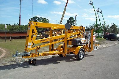 Haulotte 4527A 51' Height Towable Boom Lift,27'Outreach,Free Ship 1st 1000 Miles