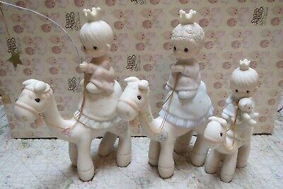 Precious Moments MINI NATIVITY They Followed The Star Camel Set Animals 3 Kings