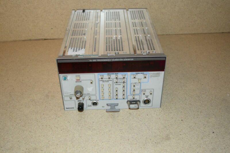 ^^ TEKTRONIX CG5001 PROGRAMMABLE CALIBRATION GENERATOR