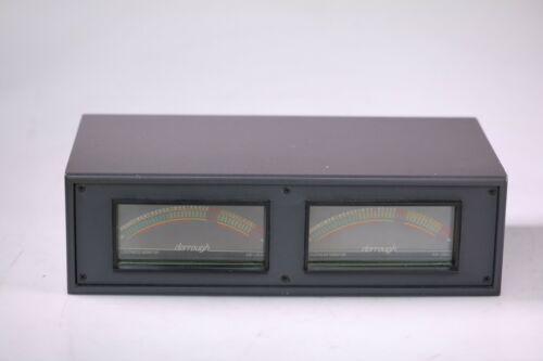 Dorrough Dual 10-A2 Rackmount Studio Analog Loudness Meters Pair