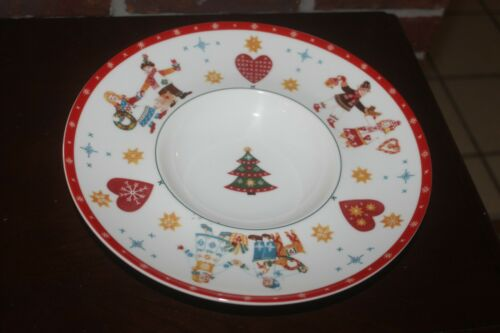 "Villeroy & Boch 11"" Scandinavian Apfelbraeter Christmas Holiday Serving Plate"